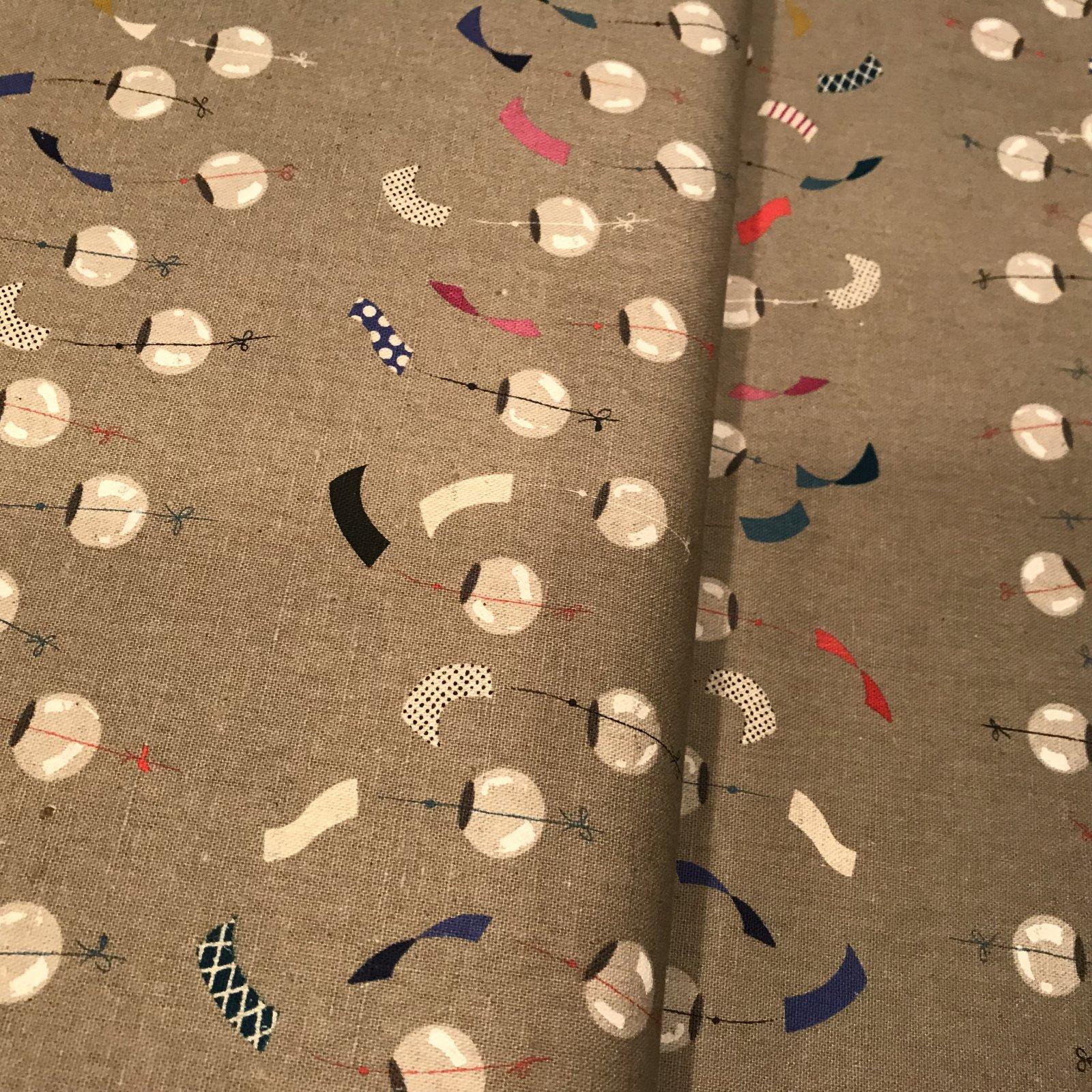 Canvas - Cotton & Steel Zephyr Chimes Linen