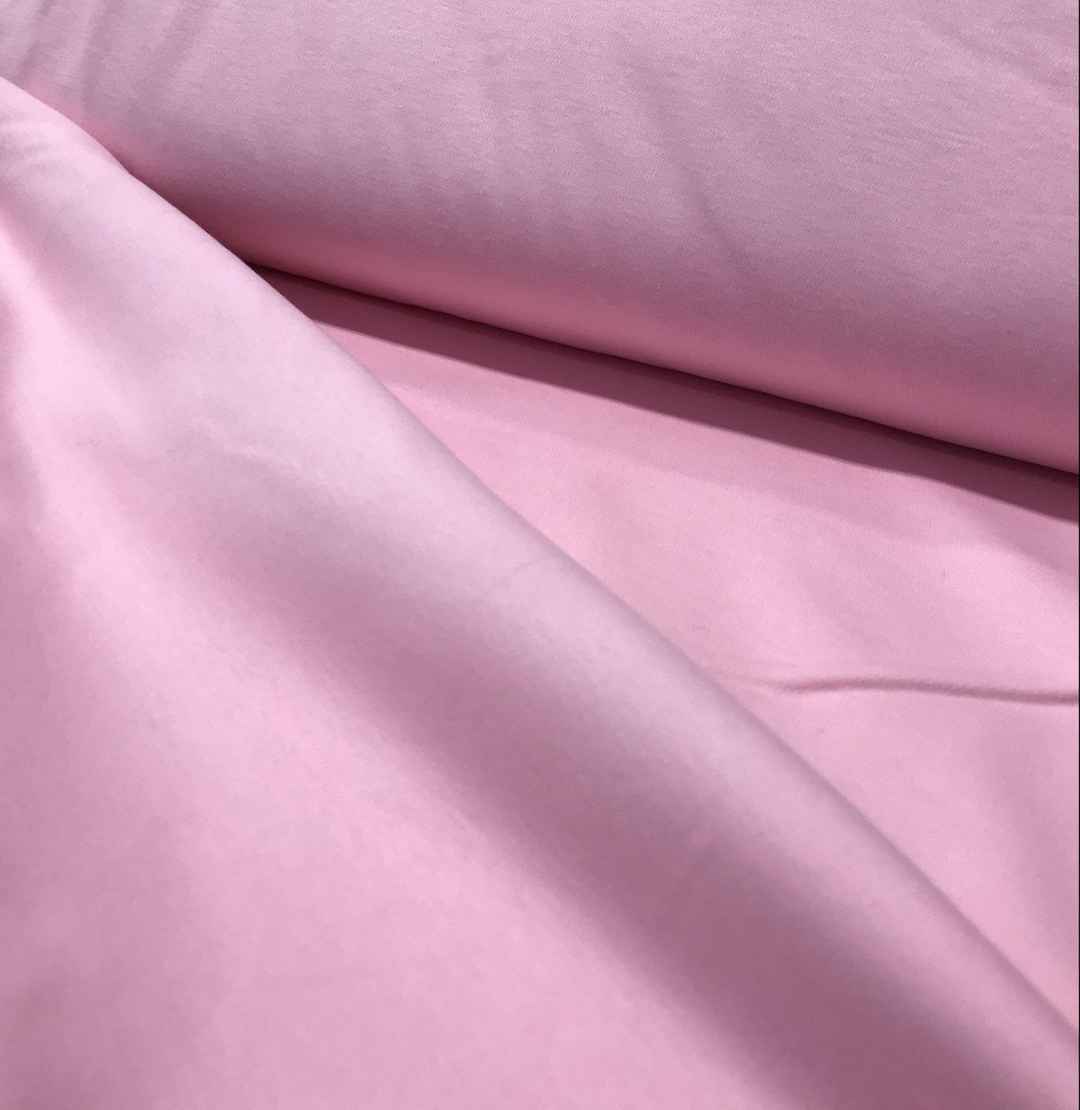 Cotton Interlock - Pink