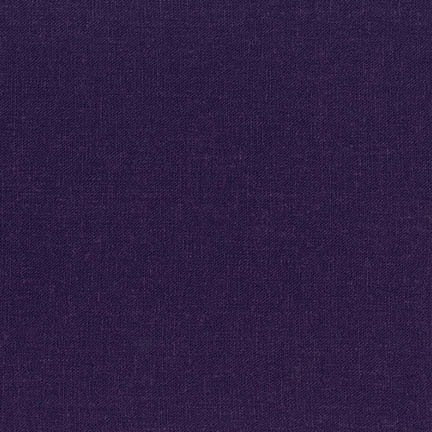 Linen Blend - Dark Purple