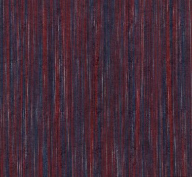 Ombre Yarn Dyed Ikat - Red & Denim