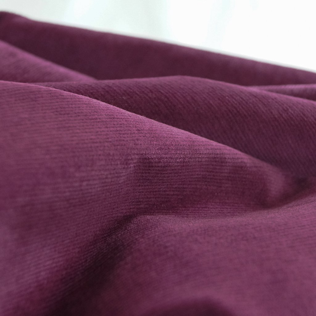 Cotton - Stretch 21 Wale Corduroy - Eggplant