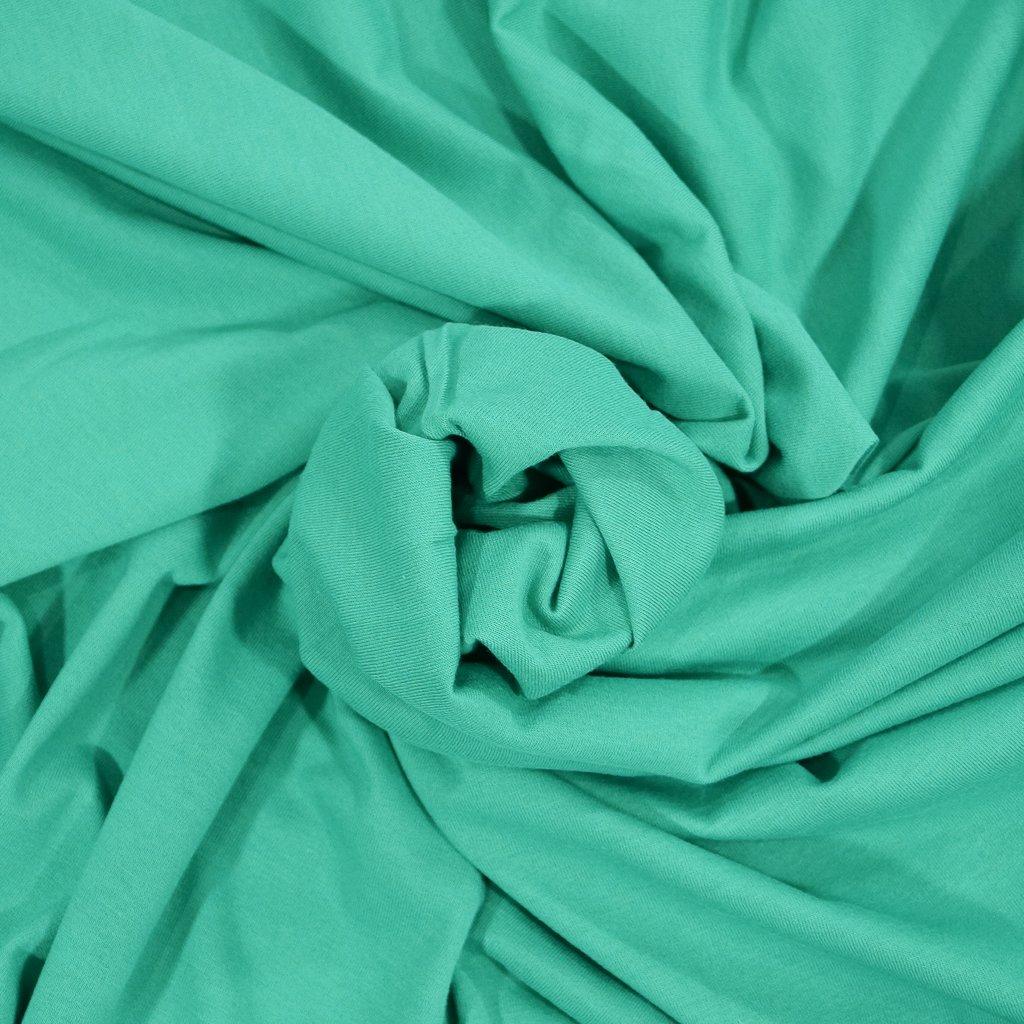 Cotton-Modal Knit - Lake Green