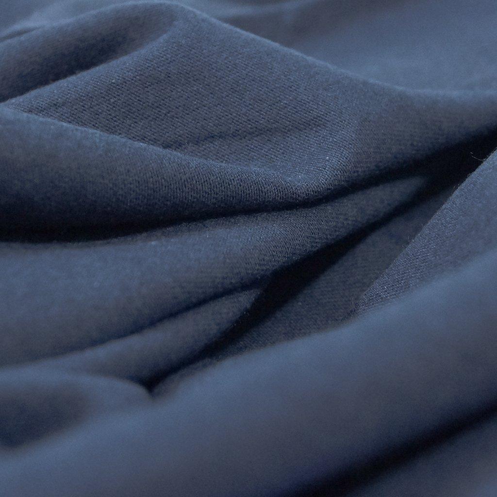 Cotton-Modal Knit - Nautical Navy Blue