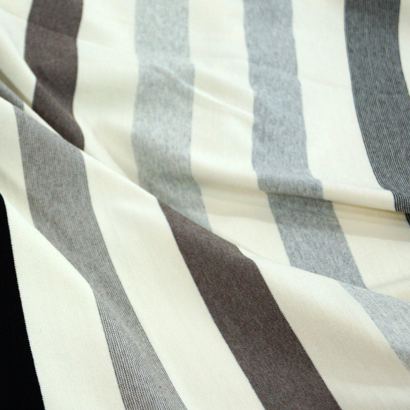 Rayon Ponte - Cream, Black, & Taupe