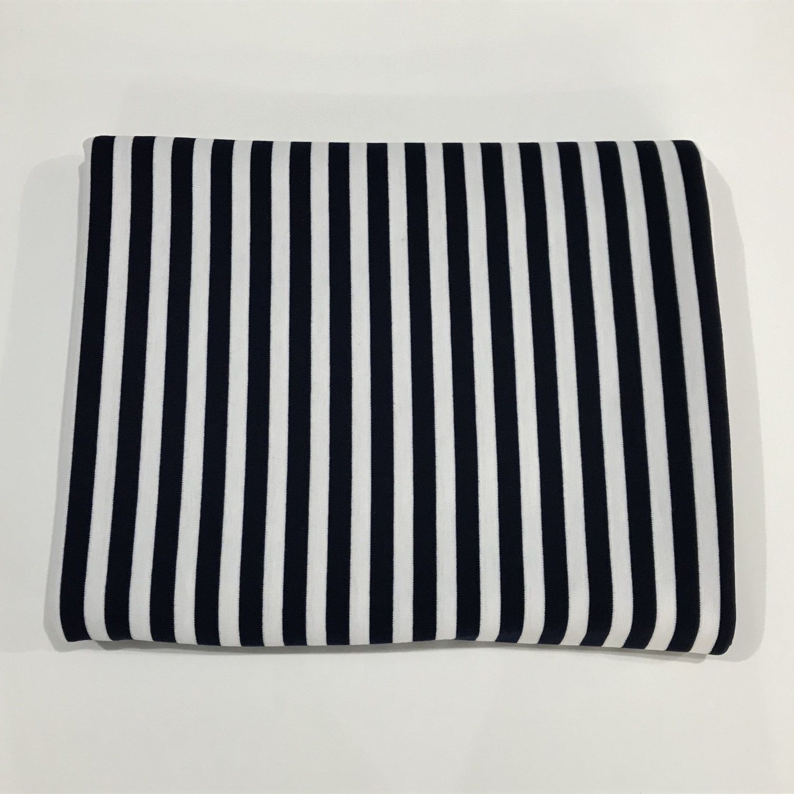 Ponte de Roma - Navy Stripes - 2 1/3 yards