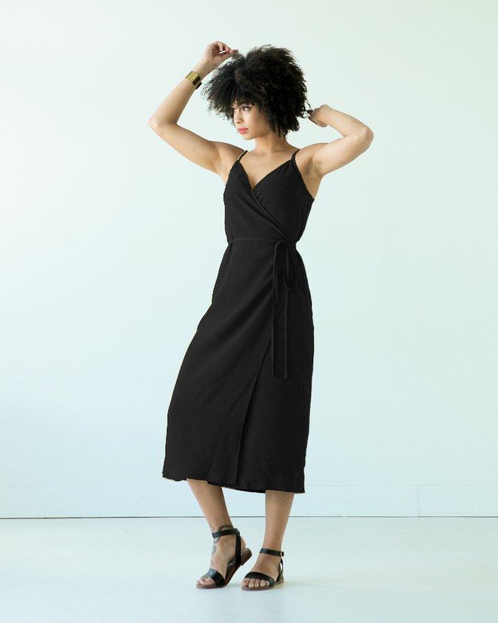 True Bias - Calvin Wrap Dress & Top