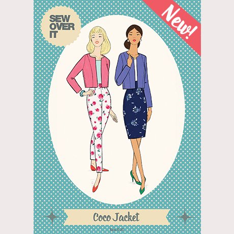 Sew Over It - Coco Jacket Pattern