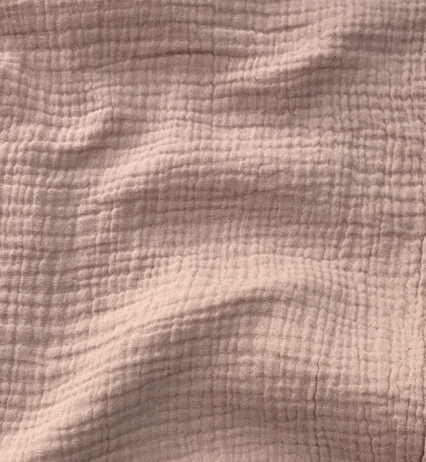 Cotton Double Gauze - Blush