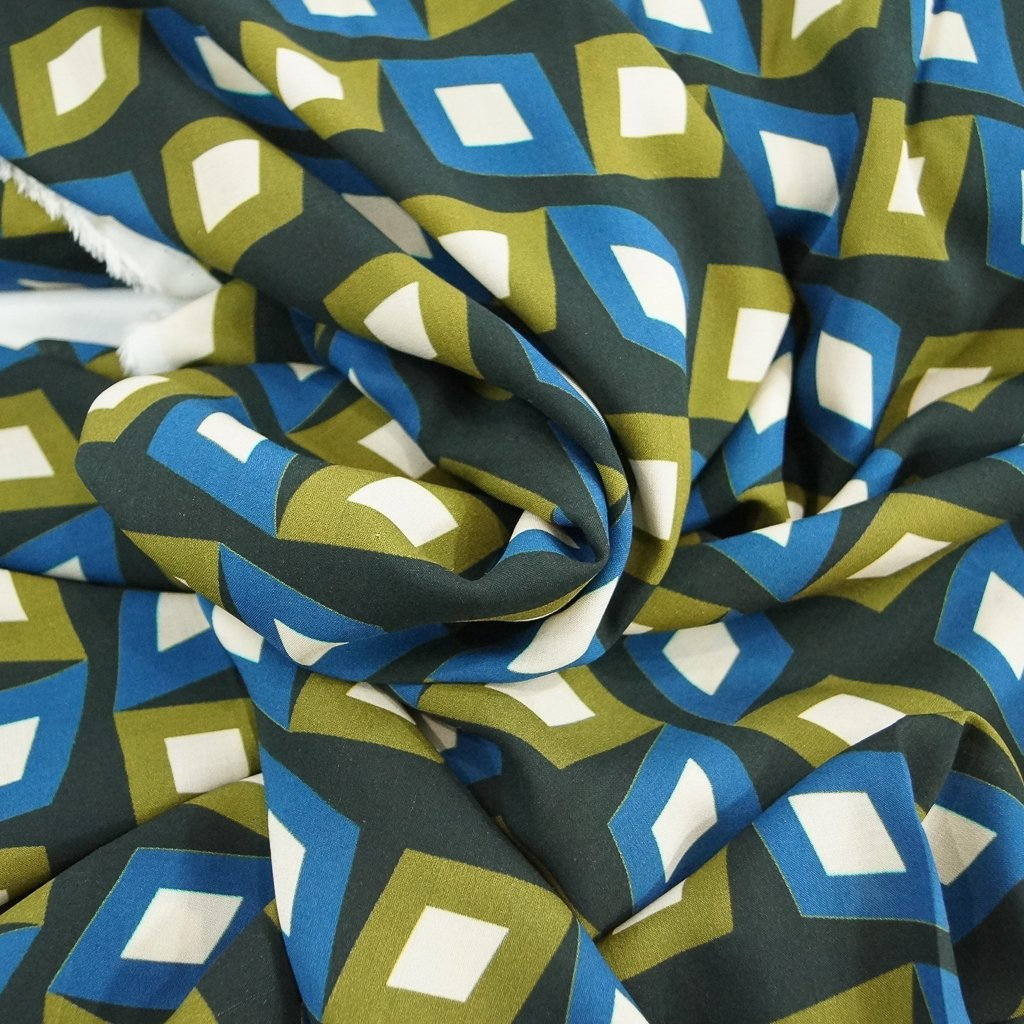 *Four Featured Fabrics: Lady McElroy - Diamonds in the Dark
