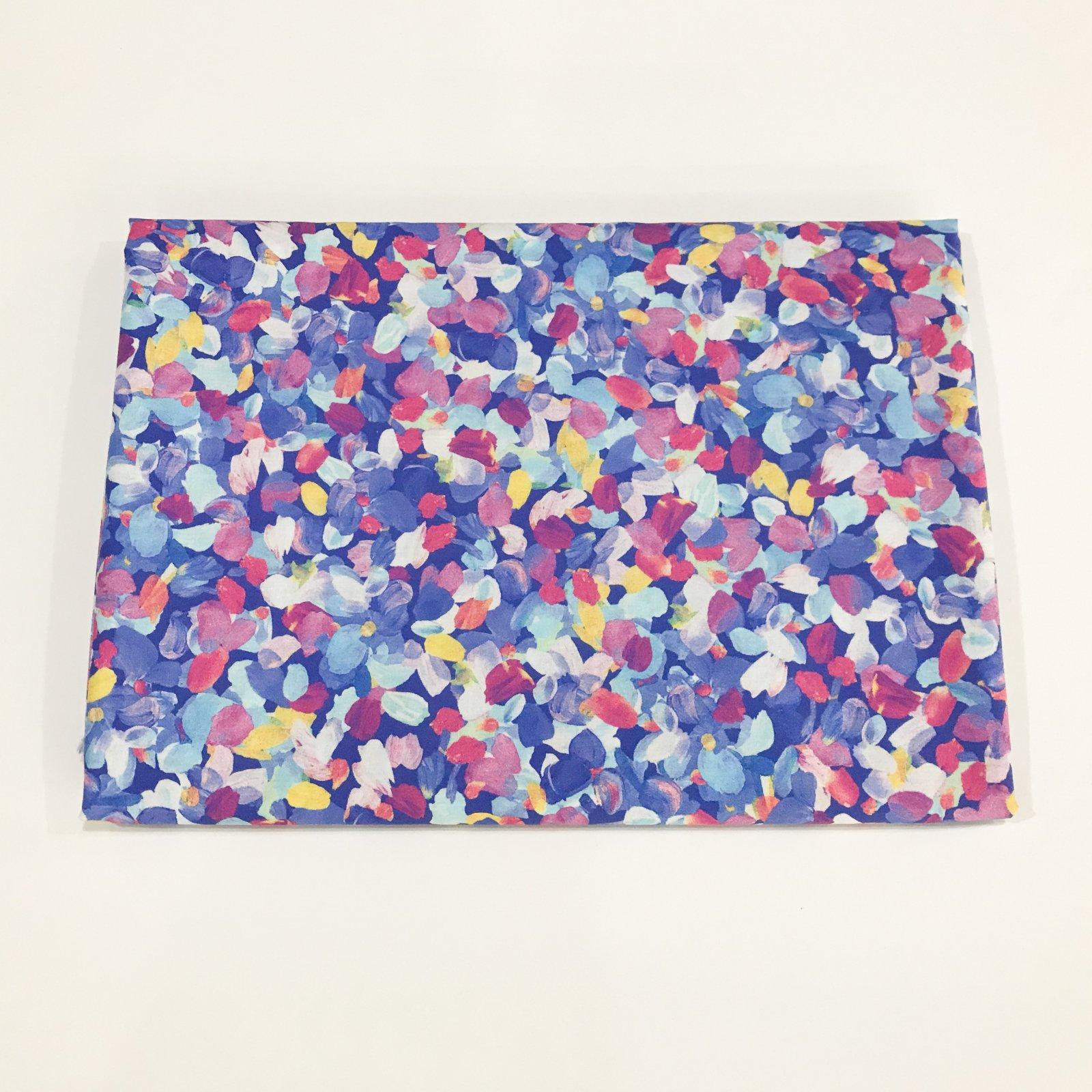 1 3/4 yard - Cotton Lawn - Periwinkle Petals