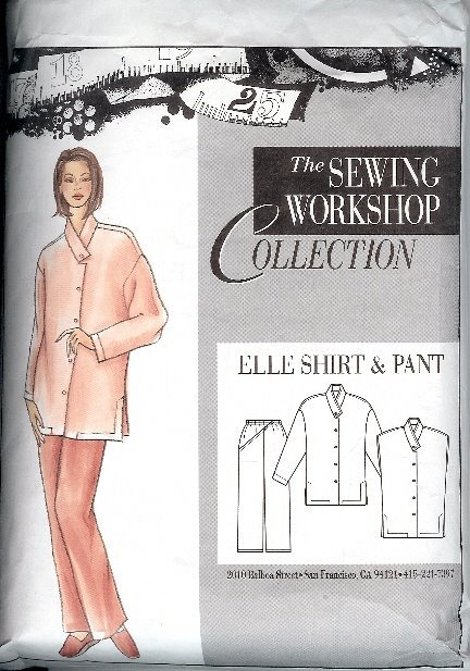 Sewing Workshop Collection Elle Shirt Pant