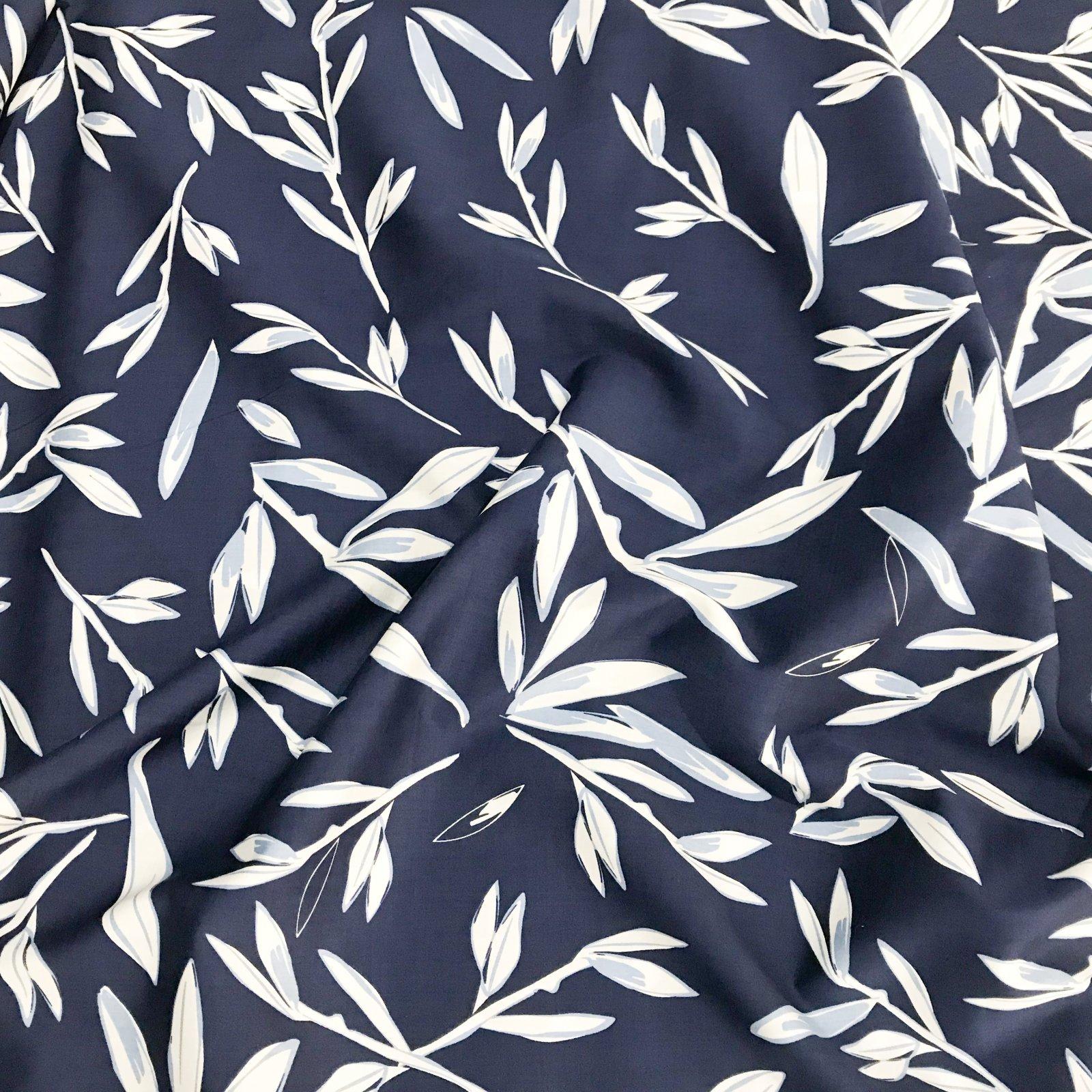 Cotton - Japanese Leaf Satin