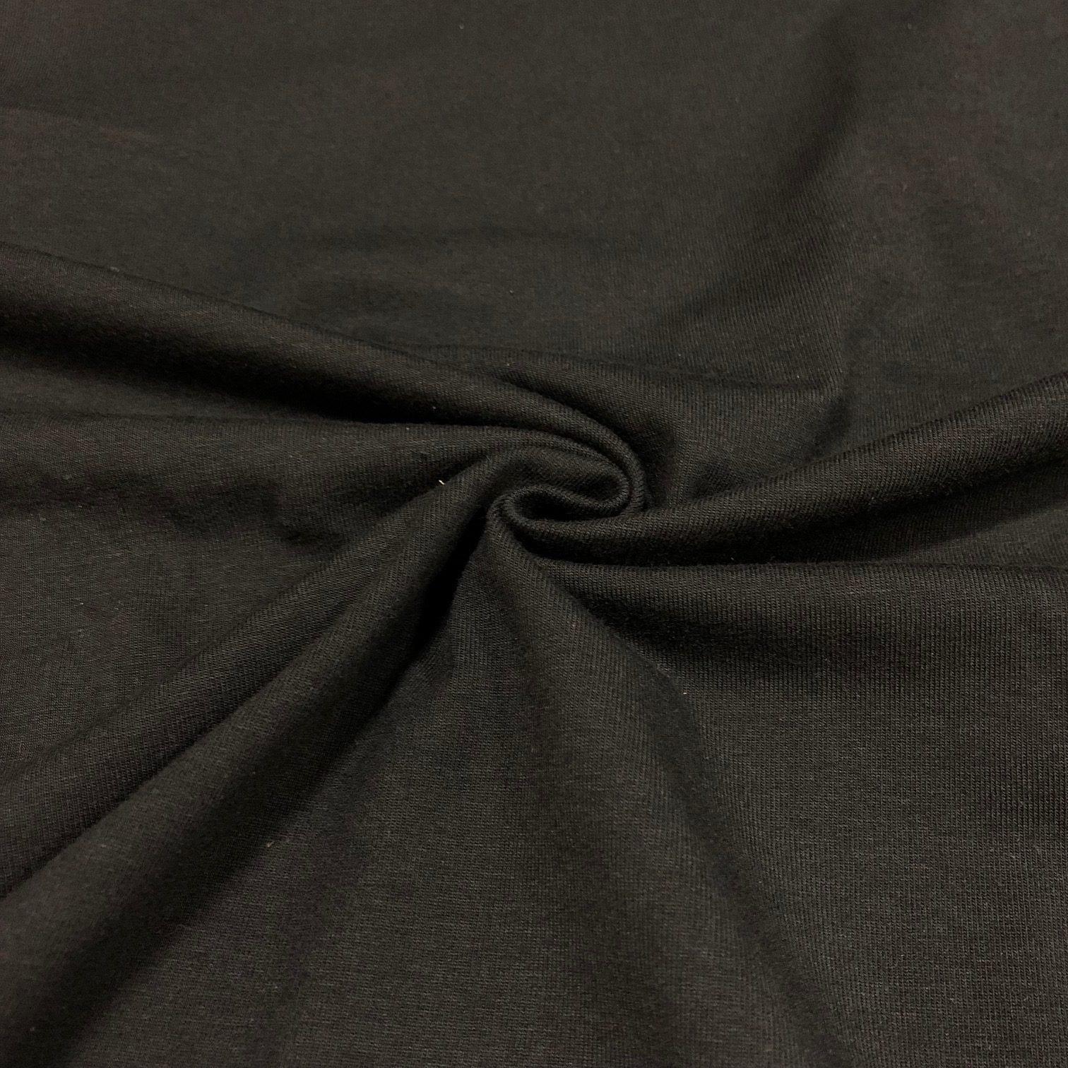 Activewear - Black Cotton Spandex