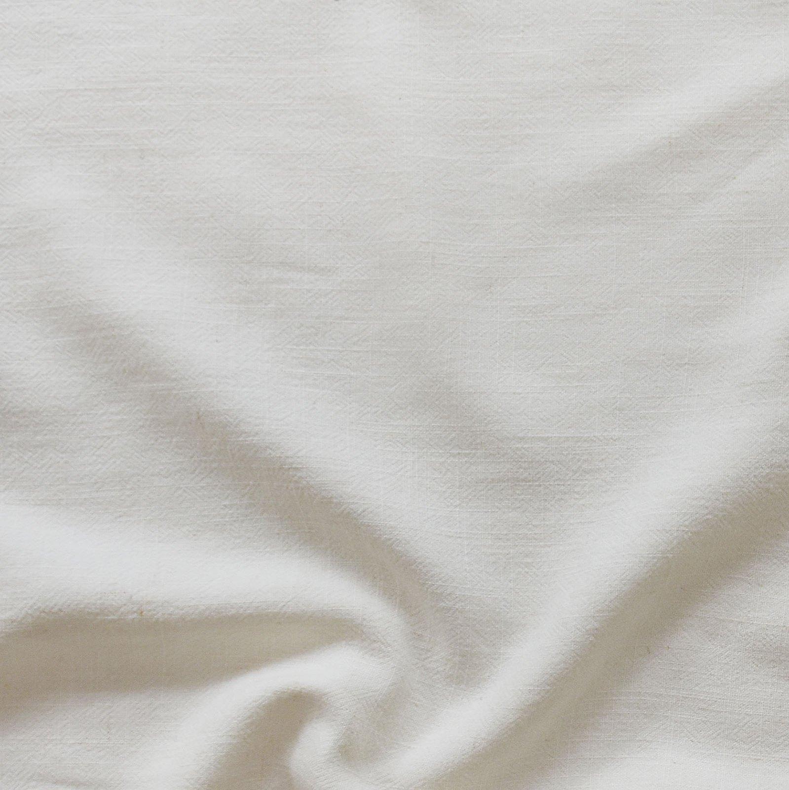 Grace Viscose & Linen Blend - Off White
