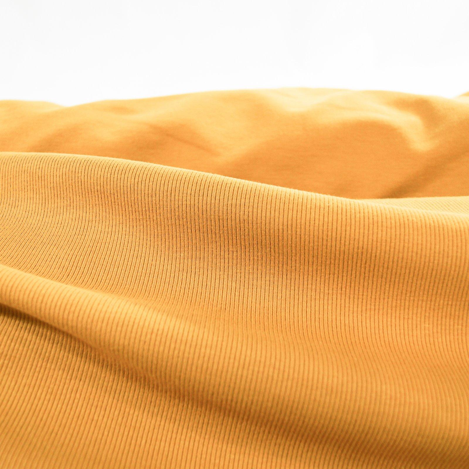 Rib Knit - 2 x 1 -  Organic Ochre
