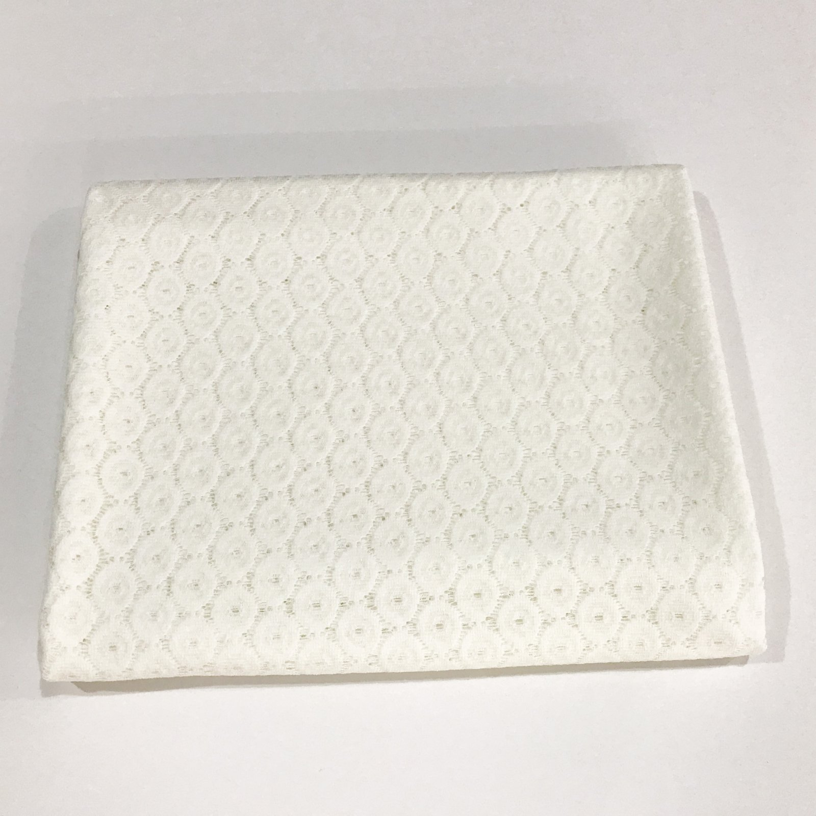 2 yards + 8 inches - Ivory Lace - Cotton/Poly