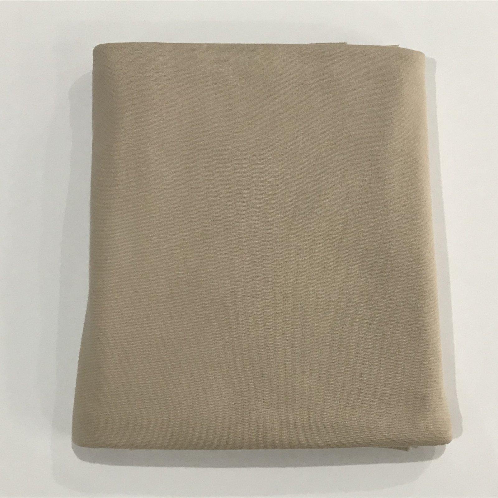 Bamboo/Cotton Ponte - Nude - 2 yards
