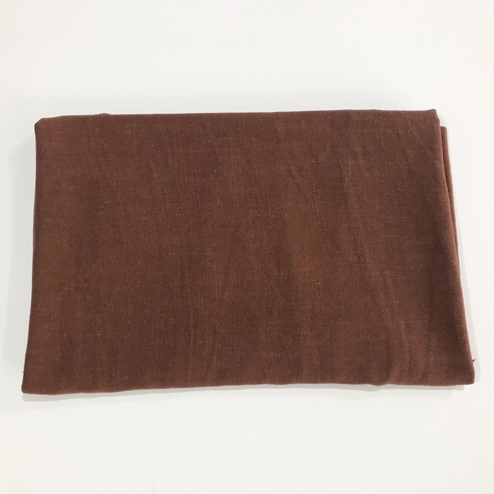 34 inches - Grace Viscose Linen Blend - Chestnut