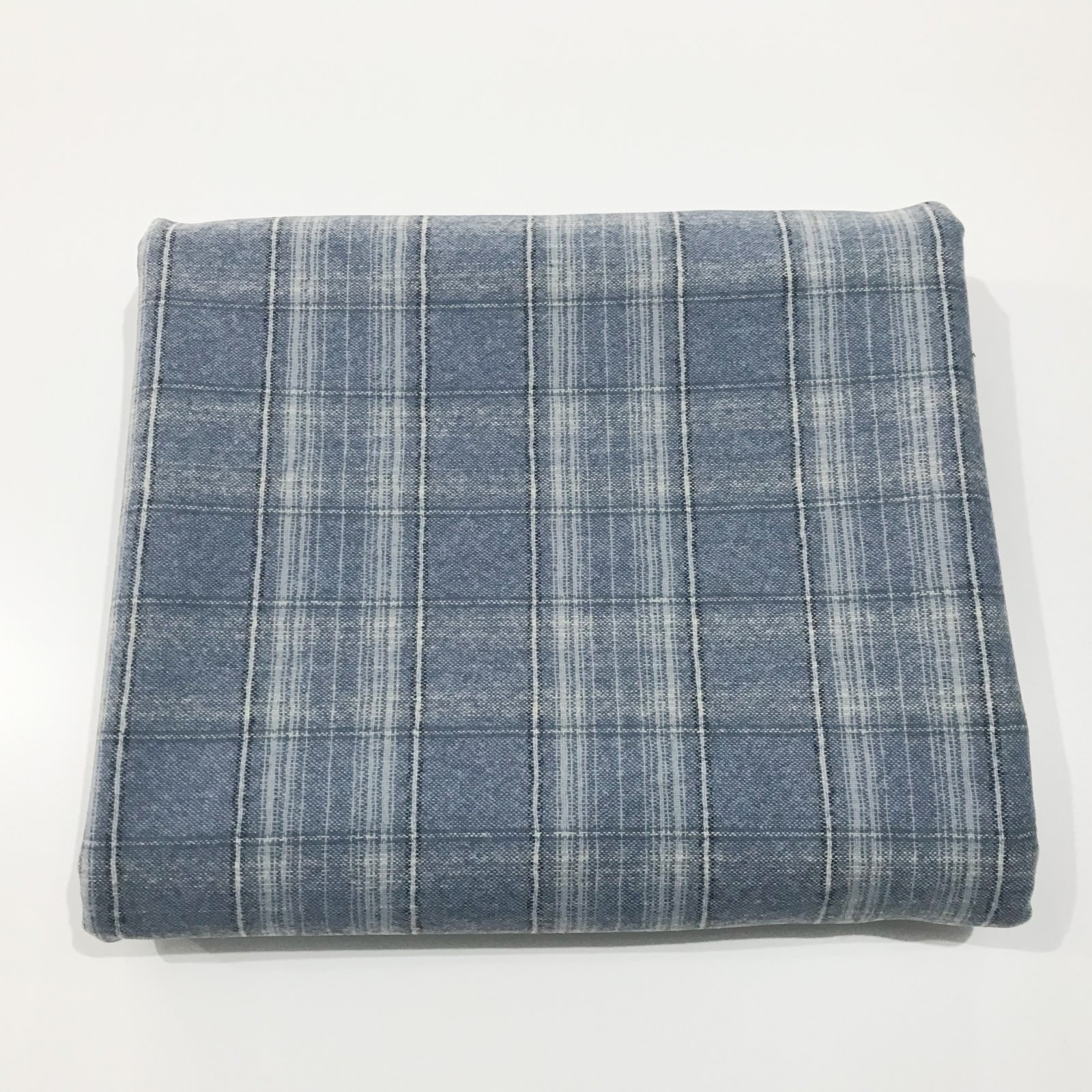 1 yard + 21 inches  - Pendleton (TM) Dusty Blue Plaid