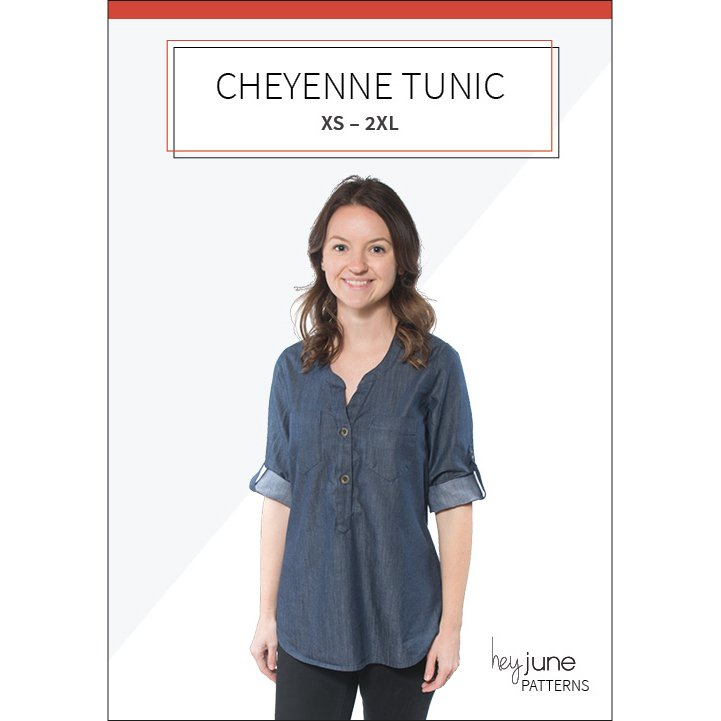 Hey June Patterns  - Cheyenne Tunic