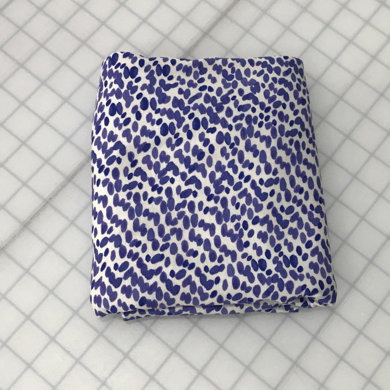 Rayon Jersey - Purple Dots - 1 yard