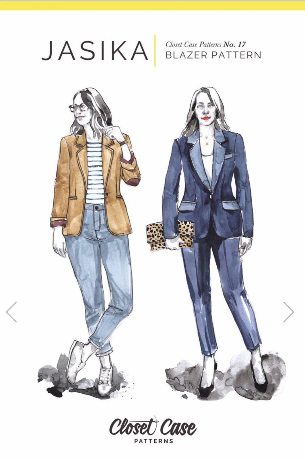 Closet Case - Jasika Blazer Pattern