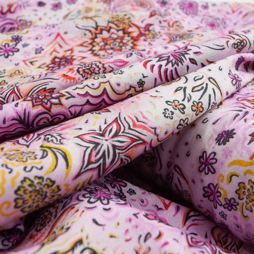 Tencel Twill - Floral Haze - Pink