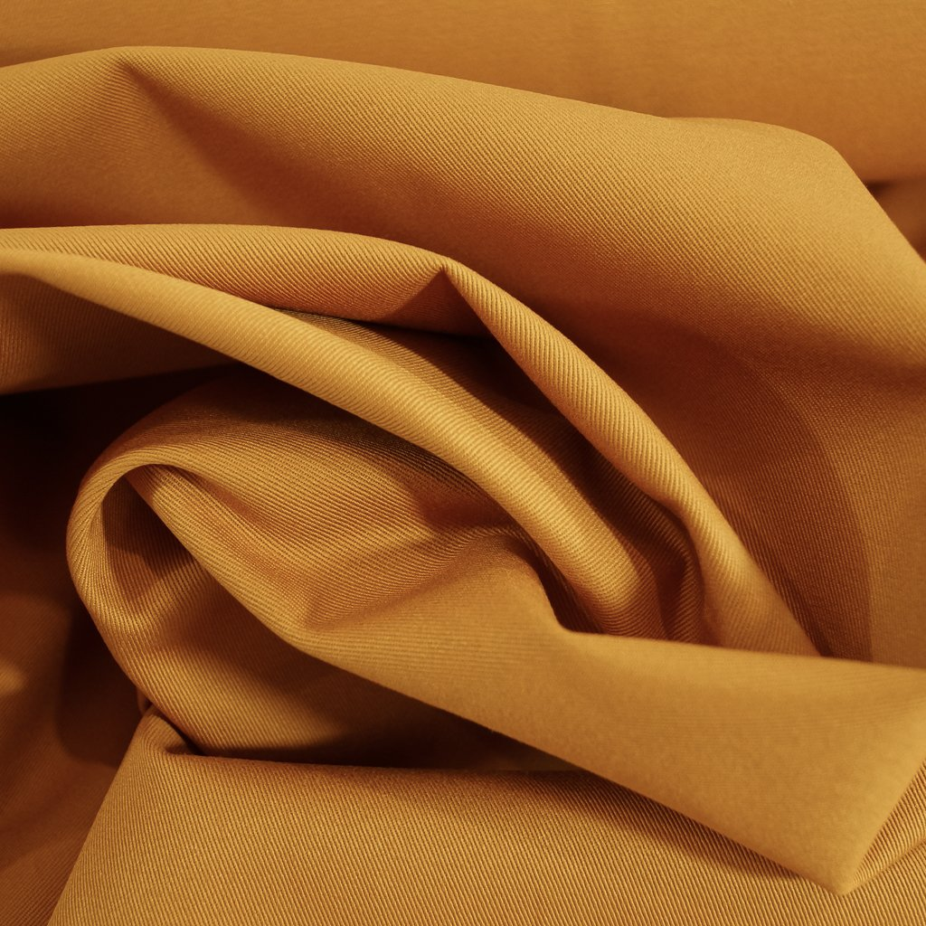 Chino Twill - Golden Brown Mustard