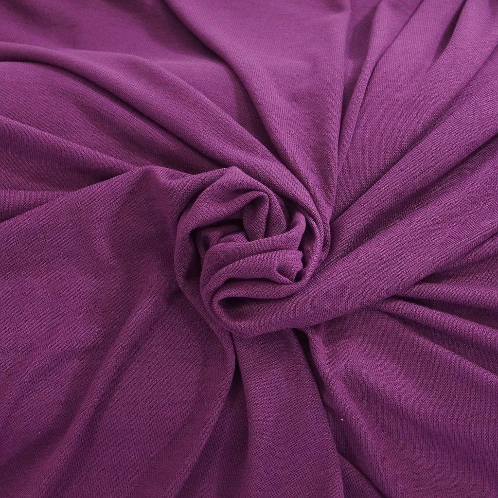 Hacci Sweater Knit - Deep Plum