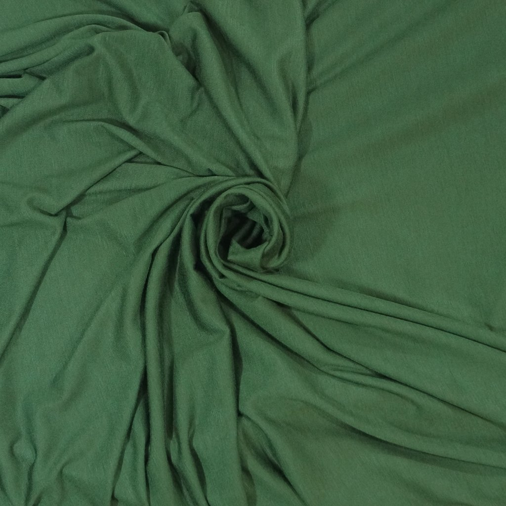 *Four Featured Fabrics: Rayon Jersey - Hunter Green