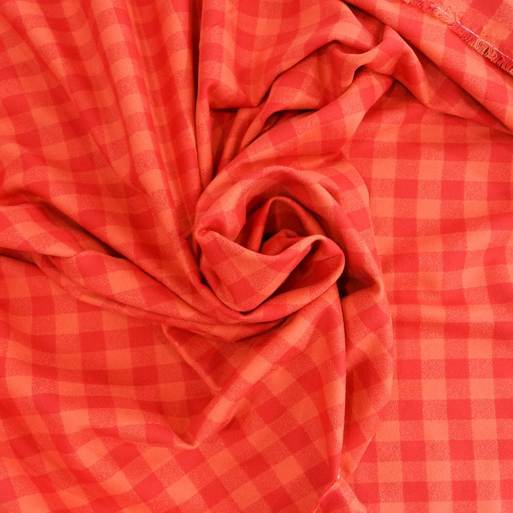 Cotton Flannel - Yarn Dyed Pimento Mammoth Flannel