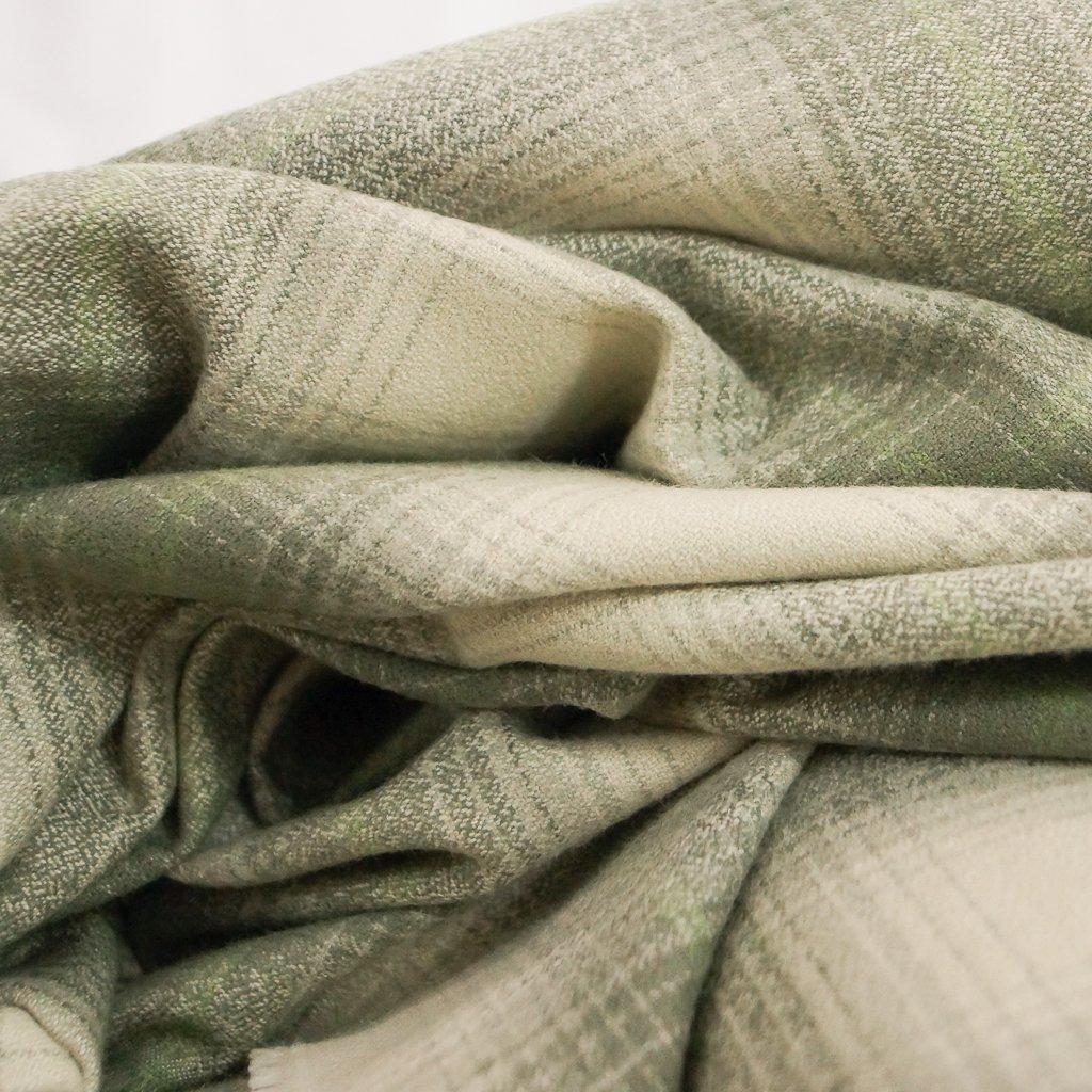Cotton Flannel - Yarn Dyed Sage Mammoth Flannel
