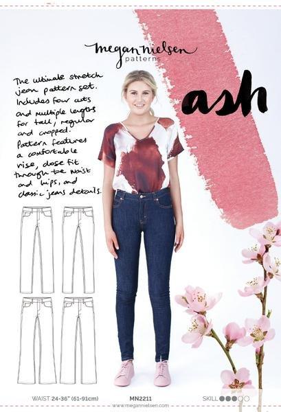 Megan Nielsen - Ash Jeans (4 in 1)