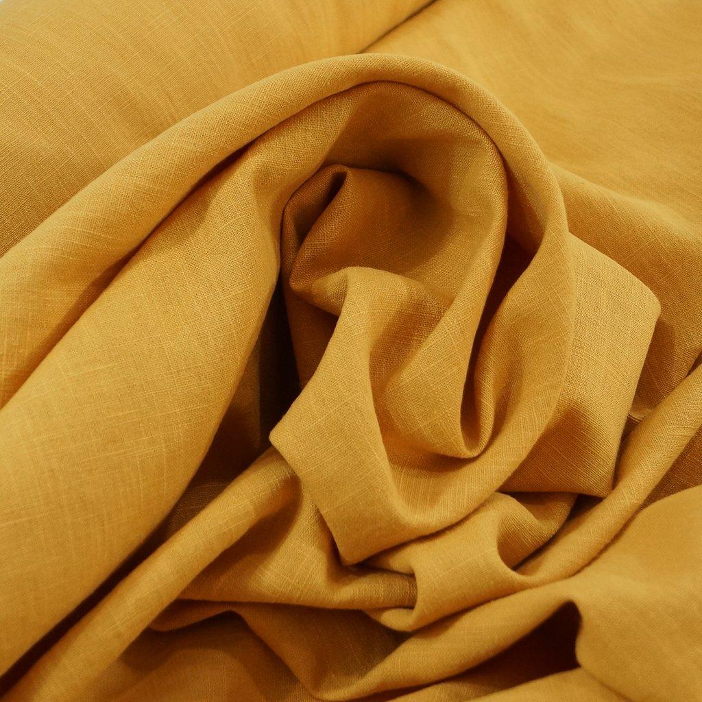 Soft Wash Linen - Mustard