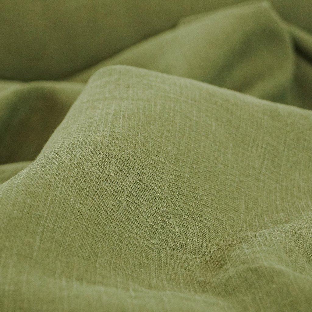 Soft Wash Linen - Olive