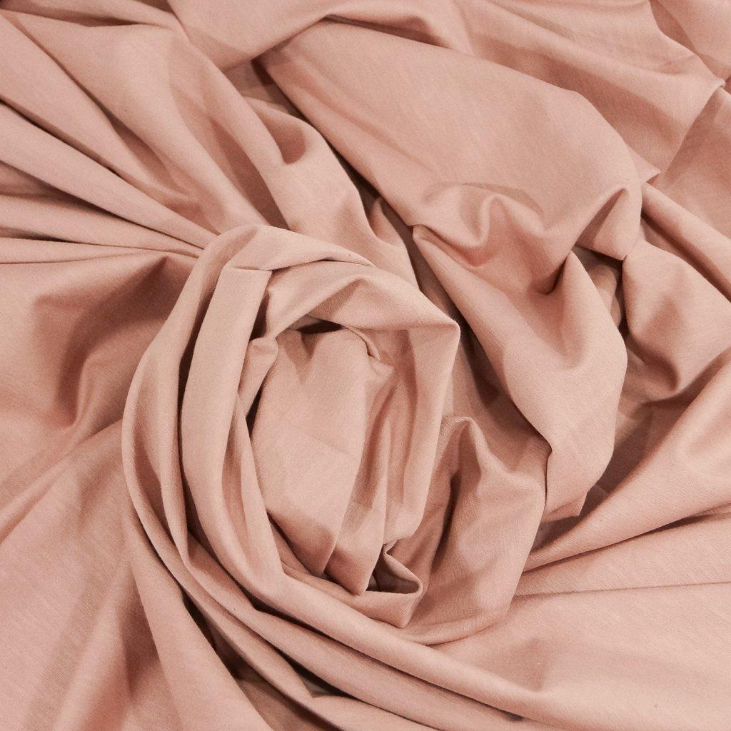 Cotton - Organic Cotton Jersey  Mélange Rose