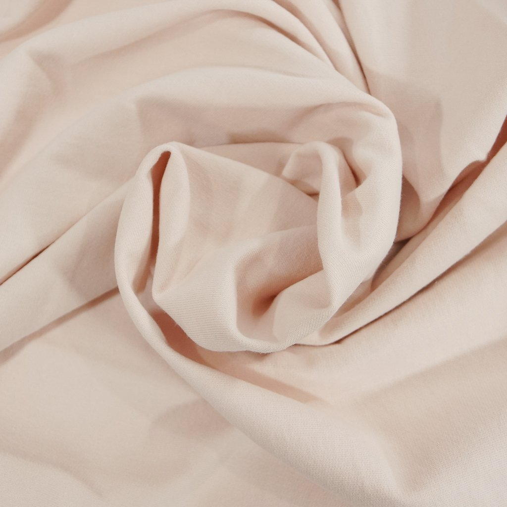 Organic Cotton - Blush Pink French Terry