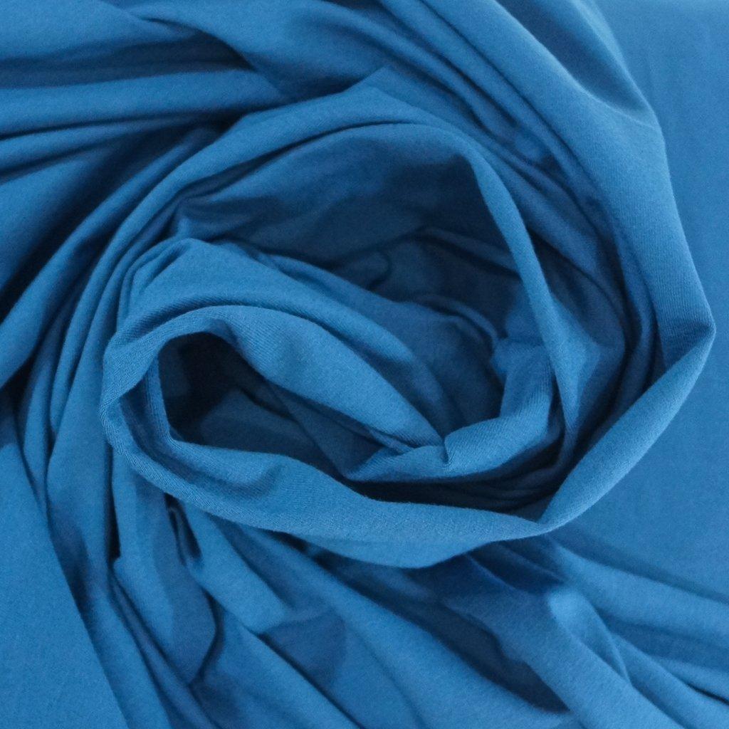 Cotton - OEKO-TEX Cert Perla Knit - Cadet Blue
