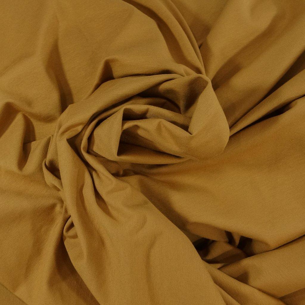 Cotton - OEKO-TEX Cert Perla Knit - Tobacco