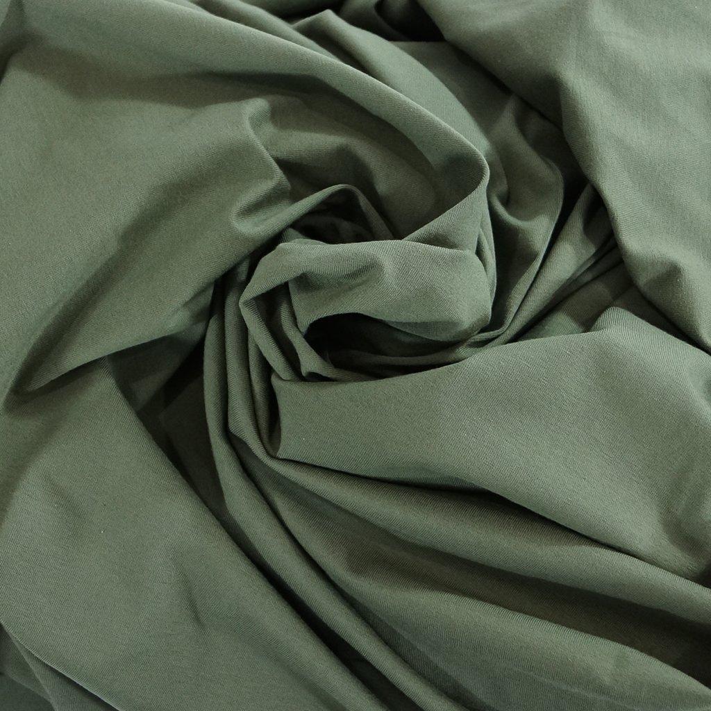 Cotton - OEKO-TEX Cert Perla Knit - Olive