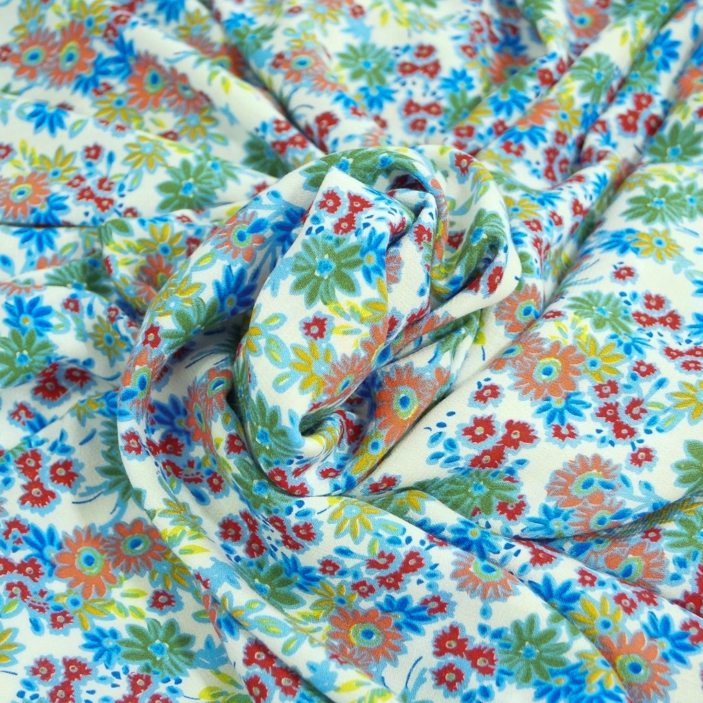 Rayon - Bright Flower Power