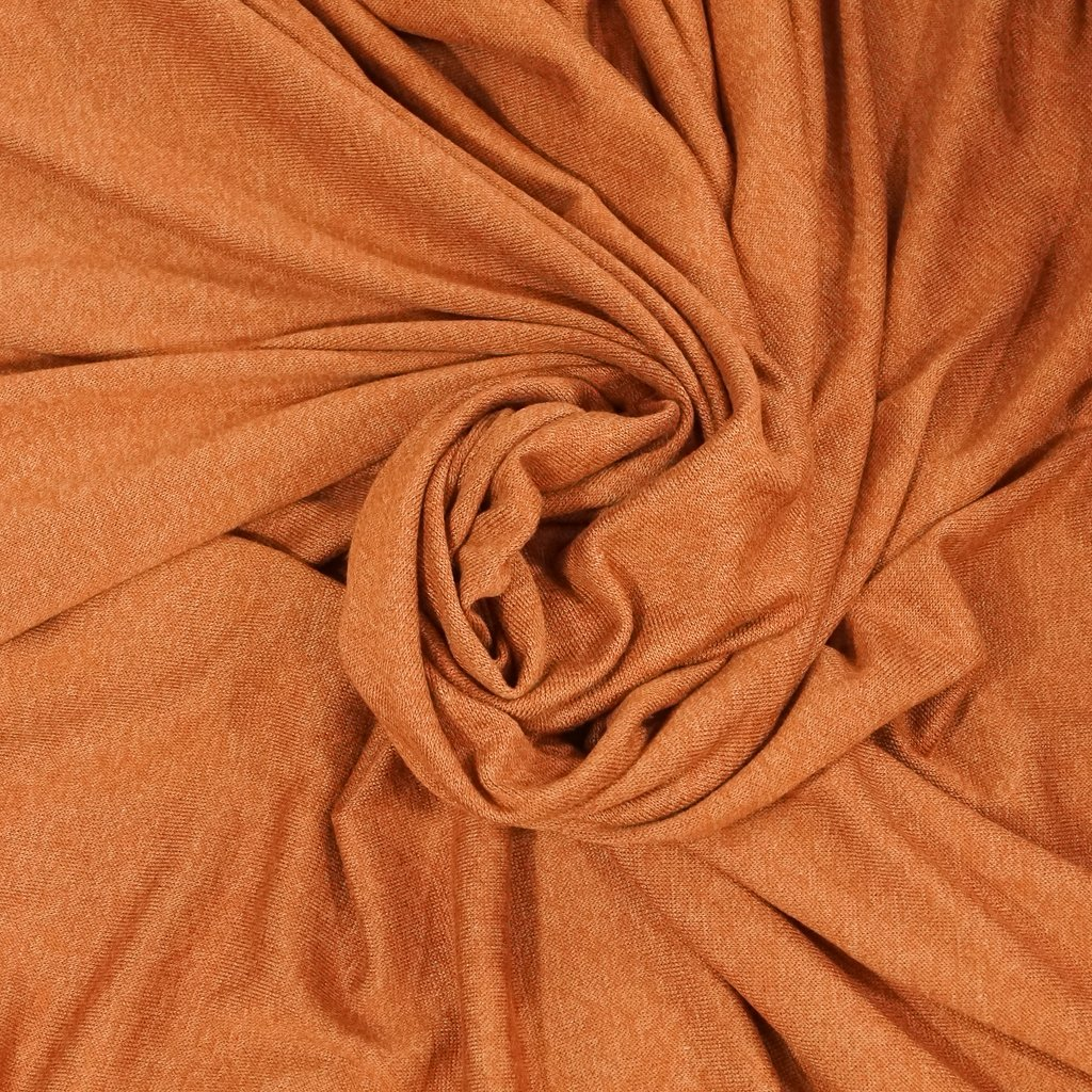 Sweater Knit - Rust Orange