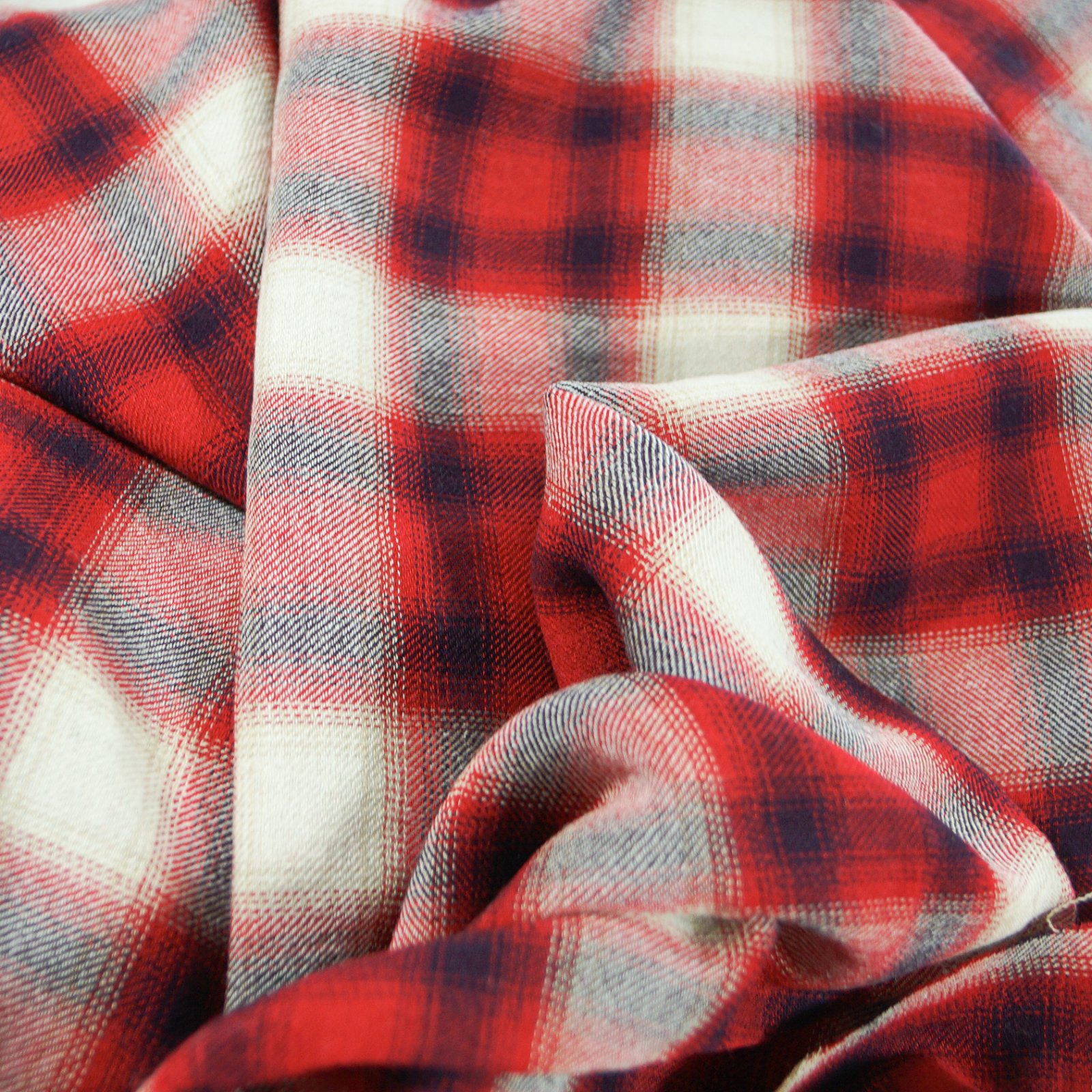 Wool - Light Weight Plaid Italian Wool
