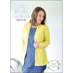 Sew to Grow - Fall in Love Cardigan