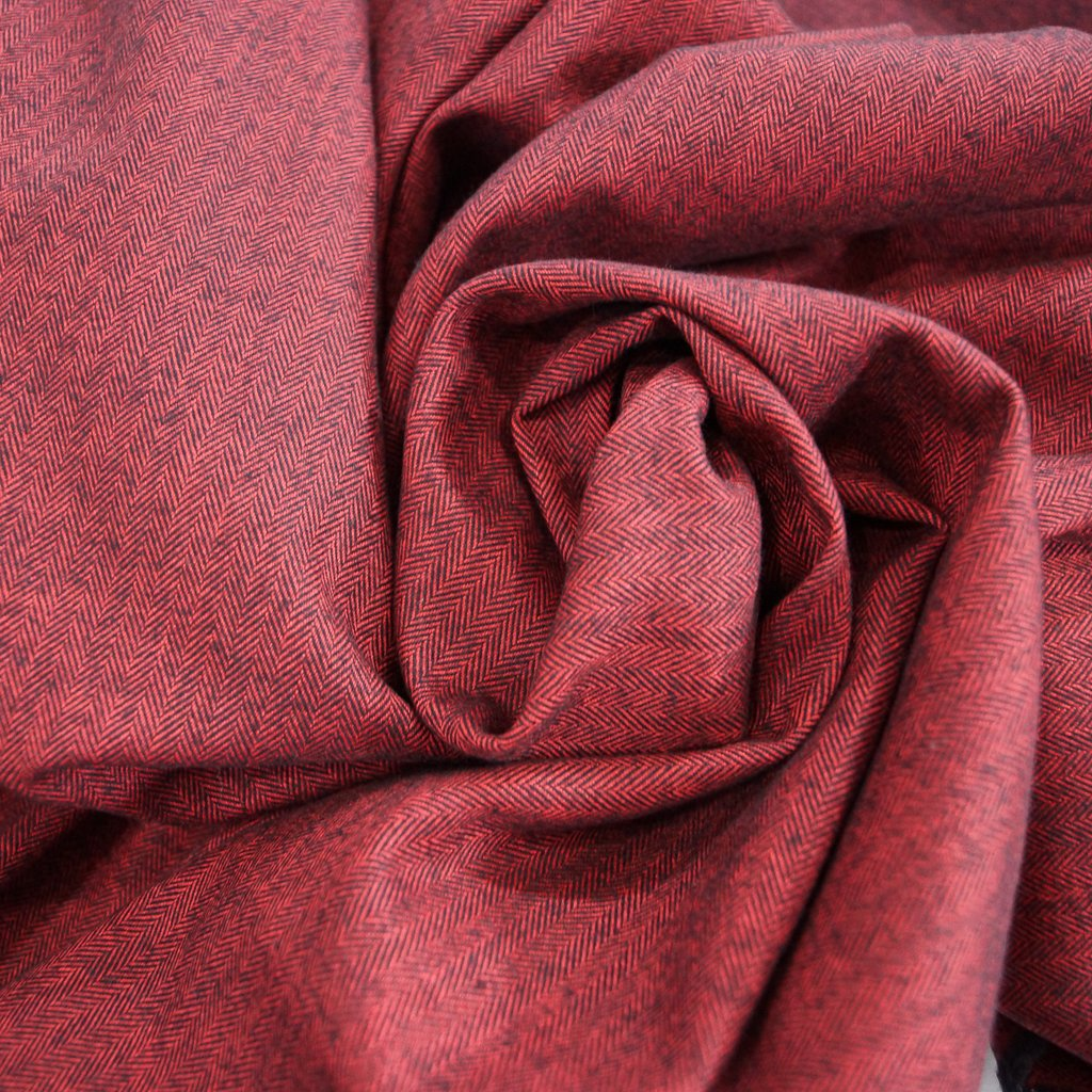 Shetland Flannel - Redwood