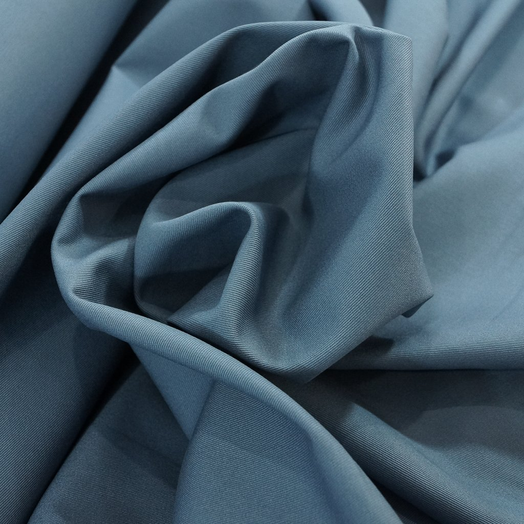 Chino Twill - Slate Blue