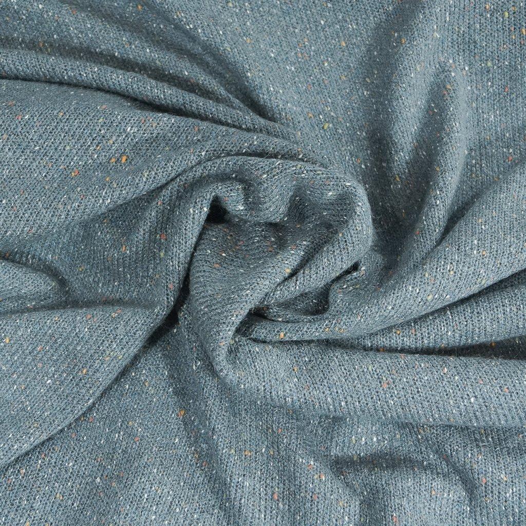 Speckled Sweater Knit - Blue Fog