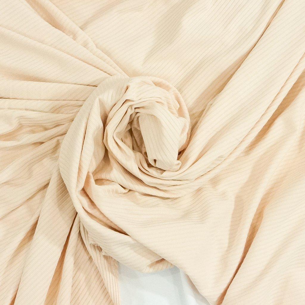 Bamboo Knit Ribbing - Blush Pink