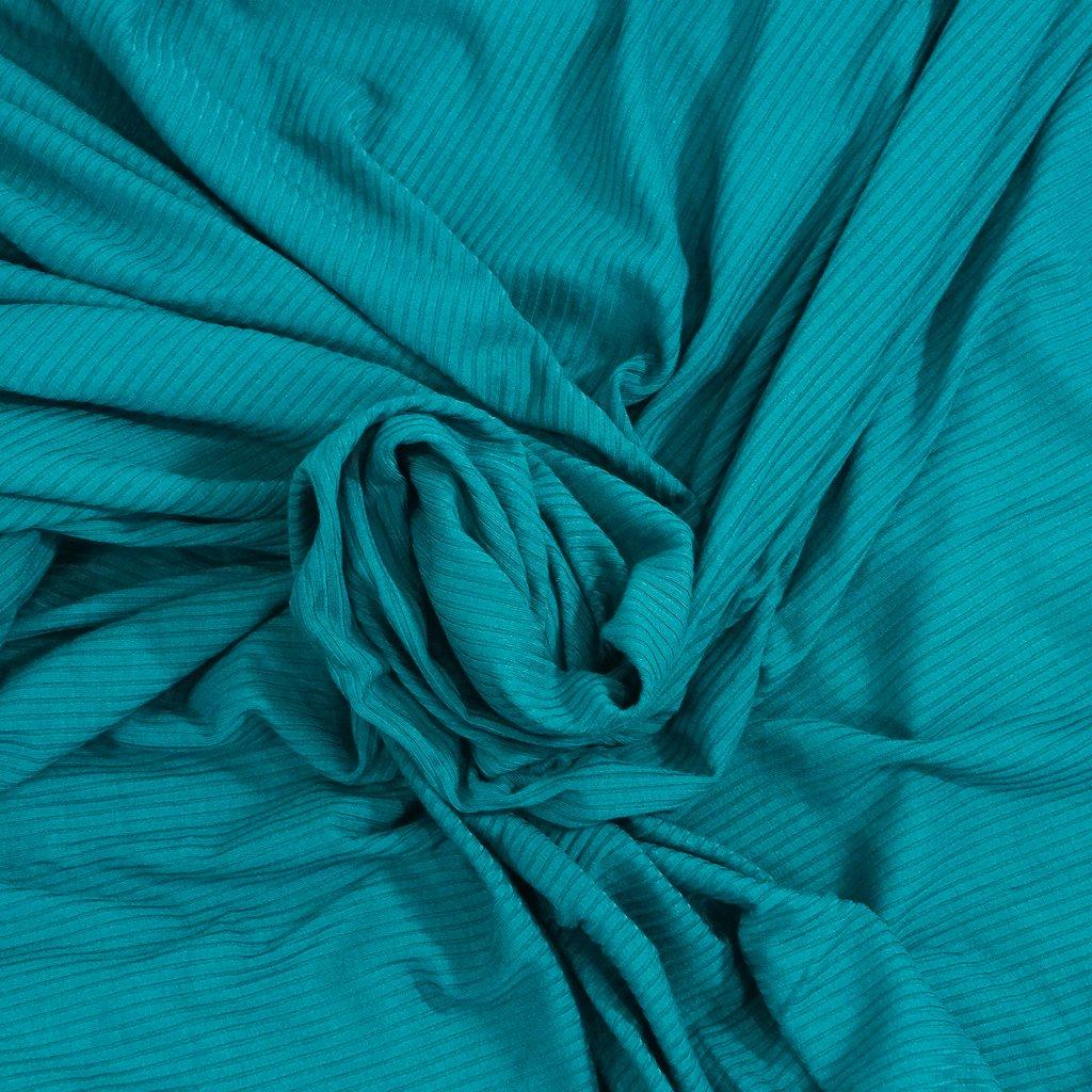 Bamboo Knit Ribbing - Pine Green