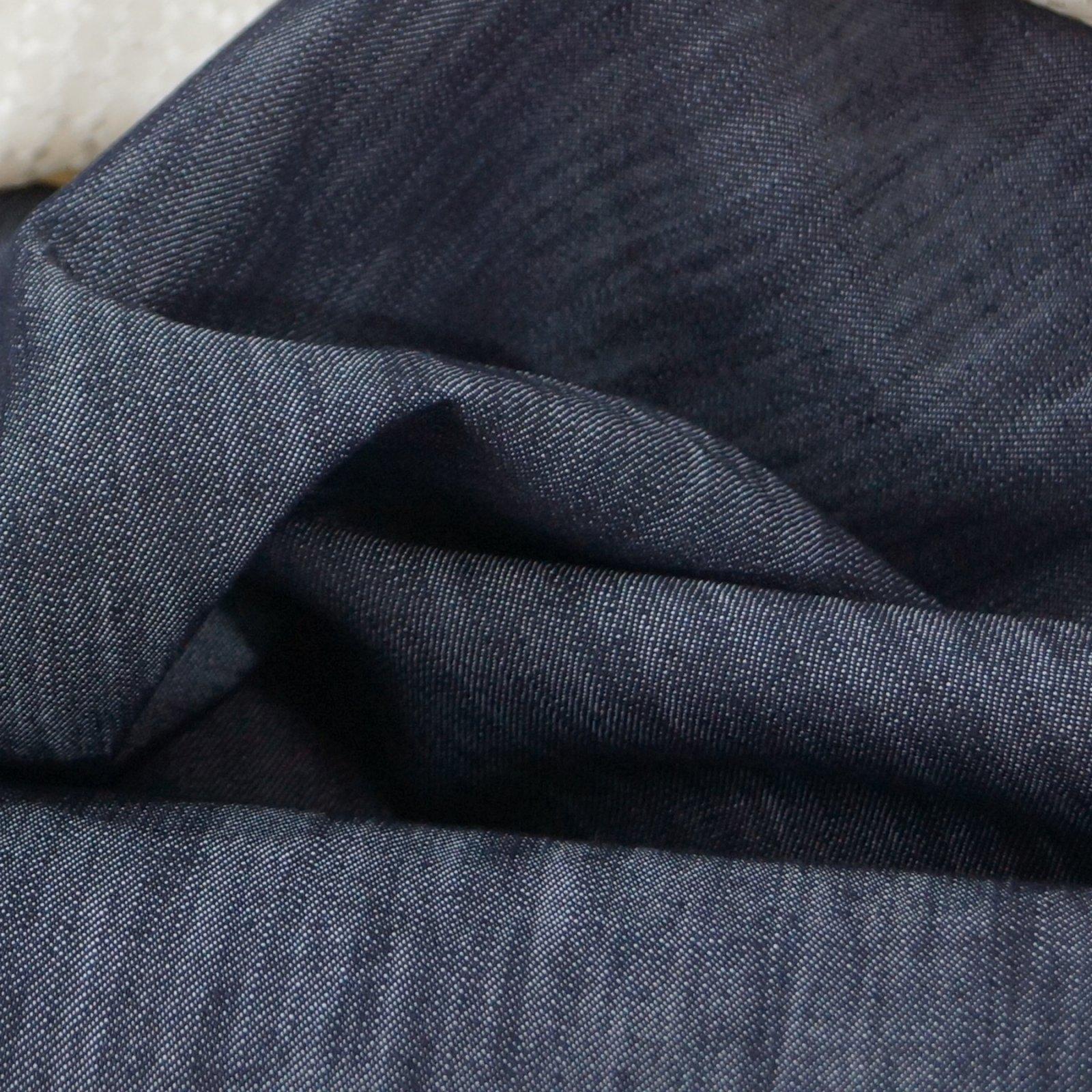 Tencel/Cotton Twill - Dark Indigo